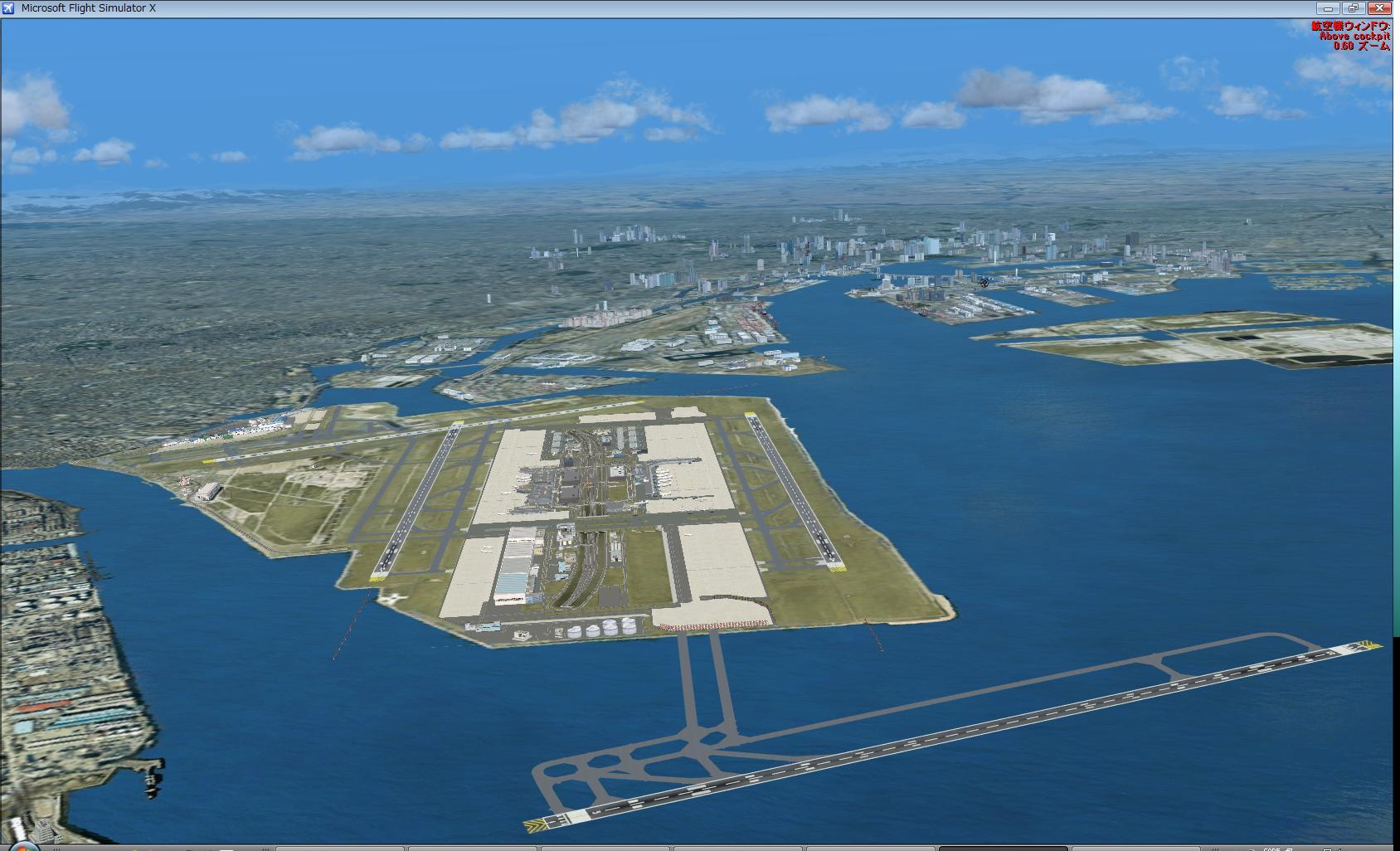 羽田空港(RJTT)のD滑走路を作ってみた:Blue Sky:So-netブログ
